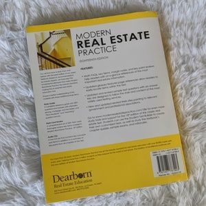 Dearborn Accents - Modern Real Estate Practice 18th Edition